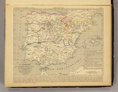 L'Espagne 1027 a 1212.