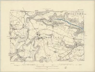 Gloucestershire XLVII.NW - OS Six-Inch Map