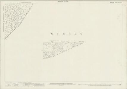Berkshire XLVII.14 & 11 (includes: Crowthorne; Frimley; Windlesham; Winkfield) - 25 Inch Map