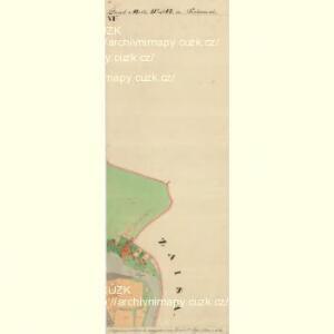 Frain - m3469-1-011 - Kaiserpflichtexemplar der Landkarten des stabilen Katasters