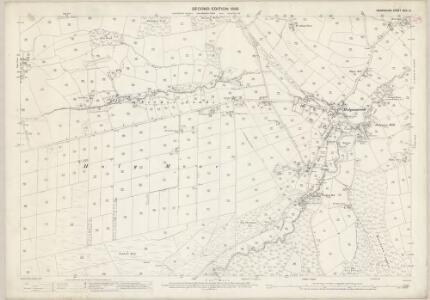Derbyshire XXIV.12 (includes: Walton) - 25 Inch Map