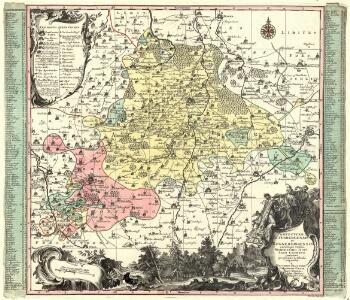 Praefecturae Altenburgensis et Ronneburgensis earumque vicinia Serenissimo Duci Saxo Gothano parentes geographicà tabula expreßae