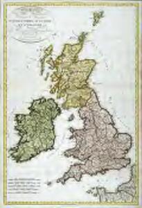 Carte générale des isles britanniques