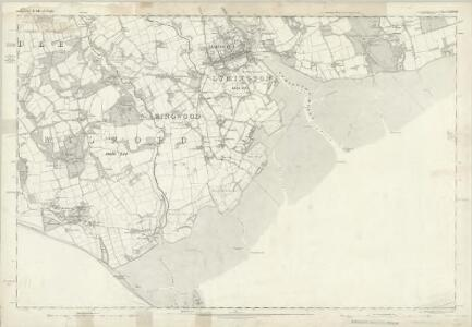 Hampshire & Isle of Wight LXXXVIII - OS Six-Inch Map