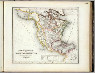 Stromgebiet, Nordamerica.