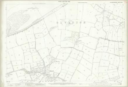 Gloucestershire LXII.8 (includes: Aust) - 25 Inch Map
