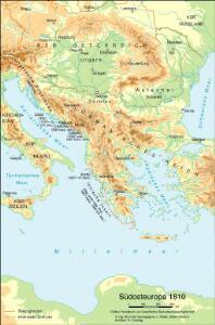 Südosteuropa 1810