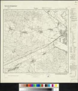Messtischblatt 4443 : Torgau (West), 1936