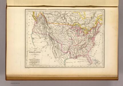 Etats-Unis d'Amerique, 1835.