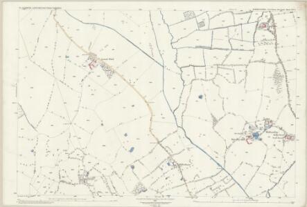 Shropshire XIV.9 (includes: Cockshutt; Ellesmere Rural; Loppington; Wem Rural) - 25 Inch Map