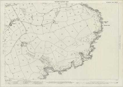 Devon CXXVIII.14 (includes: Brixham) - 25 Inch Map
