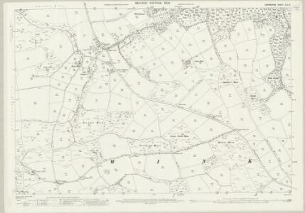 Devon XLII.13 (includes: Winkleigh) - 25 Inch Map