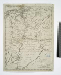 A new and accurate map of the province of New York and part of the Jerseys, New England and Canada: shewing the scenes of our military operations during the present war: also the new erected state of Vermont / Jn. Lodge, sculp.