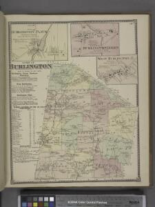 Burlington Flats [Village]; Burlington Green [Village]; West Burlington [Village]; Town of Burlington, Otsego Co. N.Y. [Township]