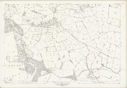 Cheshire XL.15 (includes: Little Budworth; Rushton) - 25 Inch Map