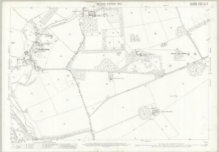 Wiltshire LV.15 (includes: Amport; Cholderton; Newton Toney; Quarley; Thruxton) - 25 Inch Map