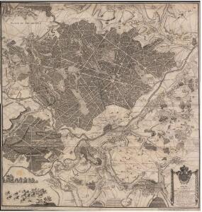 Carte de la Foret de Compiegne et ses Environs