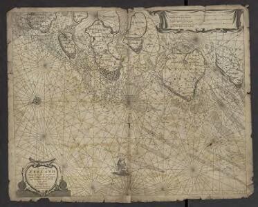 De Cust van Zeeland : Begrypende in sich de Zee gaten, als van de Wielingen. Ter Veere. Zieric zee. Brouwers-haven. Goeree en de Maes