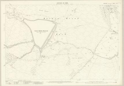 Yorkshire CLI.11 (includes: Barden; Bolton Abbey; Embsay With Eastby) - 25 Inch Map