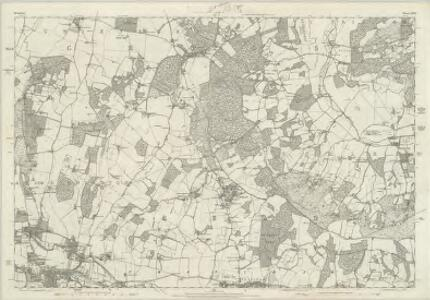 Berkshire XXX - OS Six-Inch Map