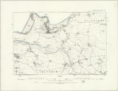 Cornwall XXXIX.NW - OS Six-Inch Map