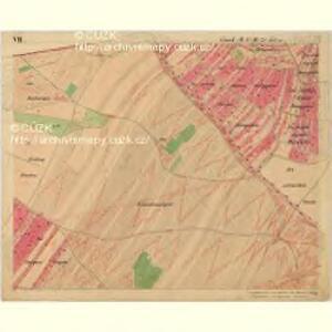 Nikolsburg - m1785-1-009 - Kaiserpflichtexemplar der Landkarten des stabilen Katasters