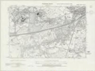 Surrey XVI.SE - OS Six-Inch Map