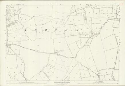 Wiltshire XXXIX.10 (includes: Edington; Keevil; Steeple Ashton) - 25 Inch Map