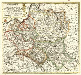 Mappa Geographica Regnorum Poloniae et Prussiae