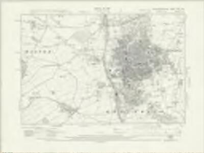 Northamptonshire XXV.SW - OS Six-Inch Map