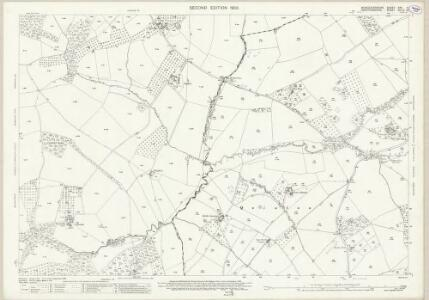 Worcestershire XXV.4 (includes: Bockleton; Laysters; Pudlestone) - 25 Inch Map