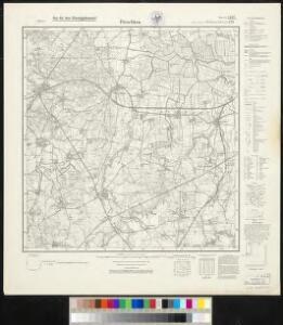 Meßtischblatt 279, neue Nr. 1487 : Pörschken, 1937
