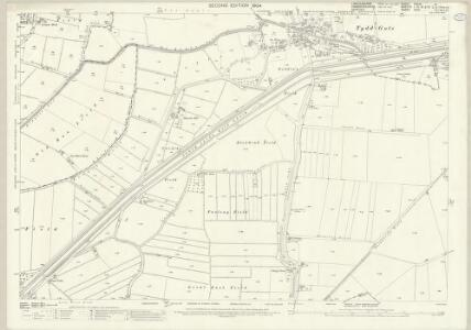 Lincolnshire CXLIV.14 (includes: Tydd St Giles; Tydd St Mary) - 25 Inch Map