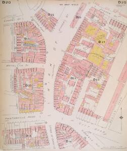 Insurance Plan of London North North West District Vol. D: sheet 20