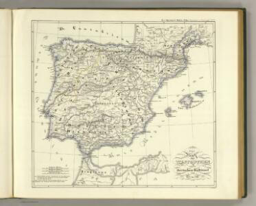 Reich der Westgothen, iberischen Halbinsel 477 bis 711.