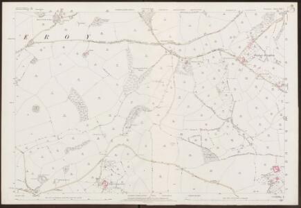 Devon CXXI.7 (includes: Berry Pomeroy; Marldon; Paignton) - 25 Inch Map