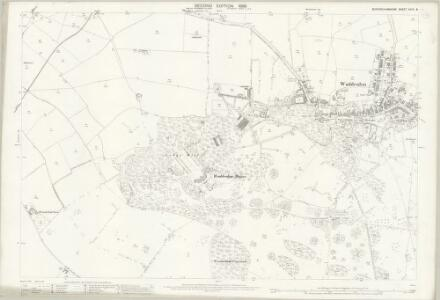 Buckinghamshire XXVII.8 (includes: Waddesdon; Westcott) - 25 Inch Map