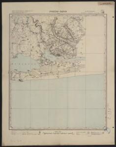 Carte du Bas-Dahomey. Porto-Novo