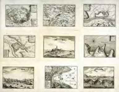 Plan de la ville de Cap daques