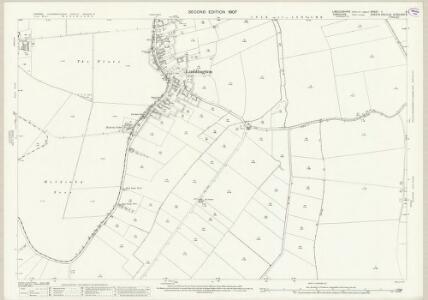 Lincolnshire X.5 (includes: Amcotts; Eastoft; Garthorpe; Haldenby; Luddington) - 25 Inch Map