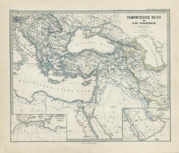 Osmanisches Reich und seine Schutzstaaten im XVIIten Jahrhundert