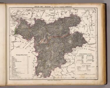 Tyrol, Vorarlberg, Liechtenstein.