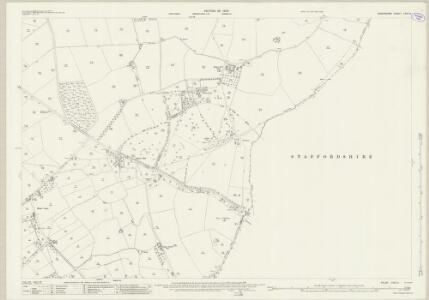 Shropshire LXVII.3 (includes: Alveley; Bobbington; Claverley; Enville) - 25 Inch Map