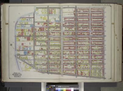 Brooklyn, Vol. 1, Double Page Plate No. 12; Part of Ward 22, Section 4; [Map bounded by 3rd St., 7th Ave., Prospect Ave., Hamilton Ave., Gowanus Canal] / by and under the direction of Hugo Ullitz.