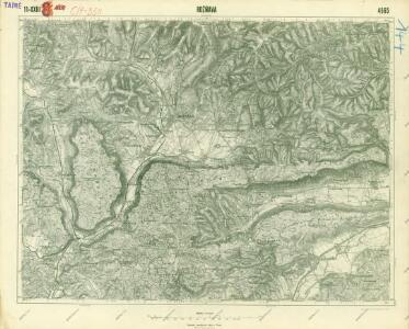 III. vojenské mapování 4565