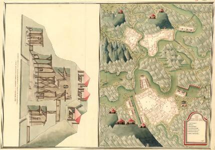 Plan von Bergwerg Racksest, und Bocza