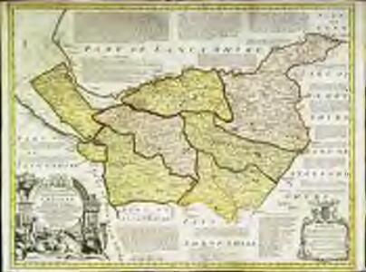 An accurate map of the county palatine of Chester