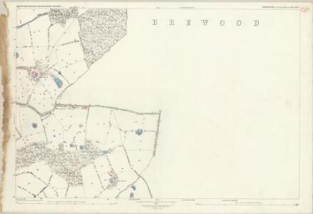 Shropshire XLV.5 (includes: Albrighton; Boscobel; Brewood; Donington) - 25 Inch Map