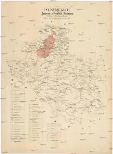Industrie Karte des Pilsner und Piseker Kreises