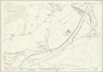 Lancashire CIX.16 (includes: Lymm; Rixton With Glazebrook; Warburton) - 25 Inch Map
